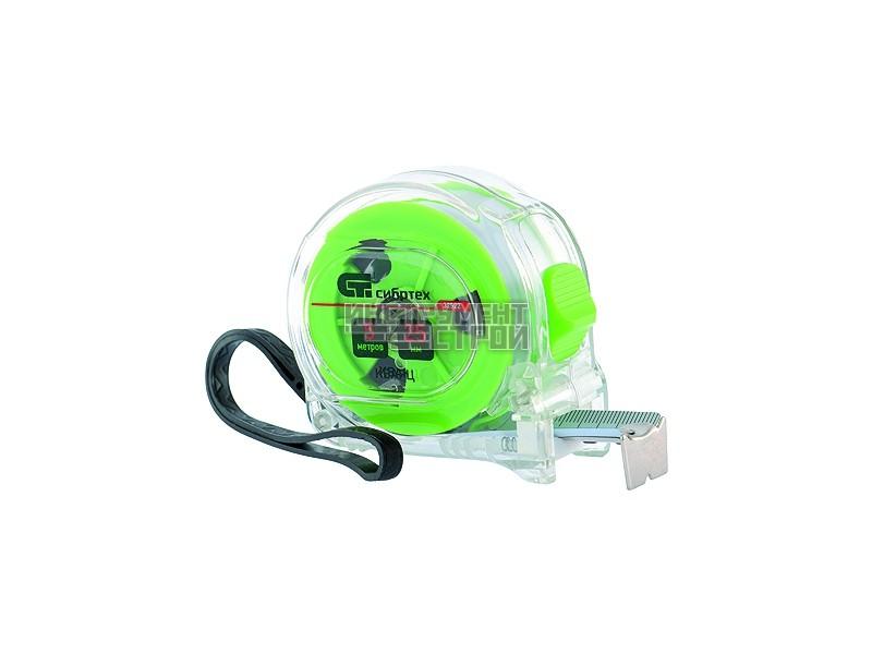 Рулетка кварц прозр.корп. 5х19мм Сибртех